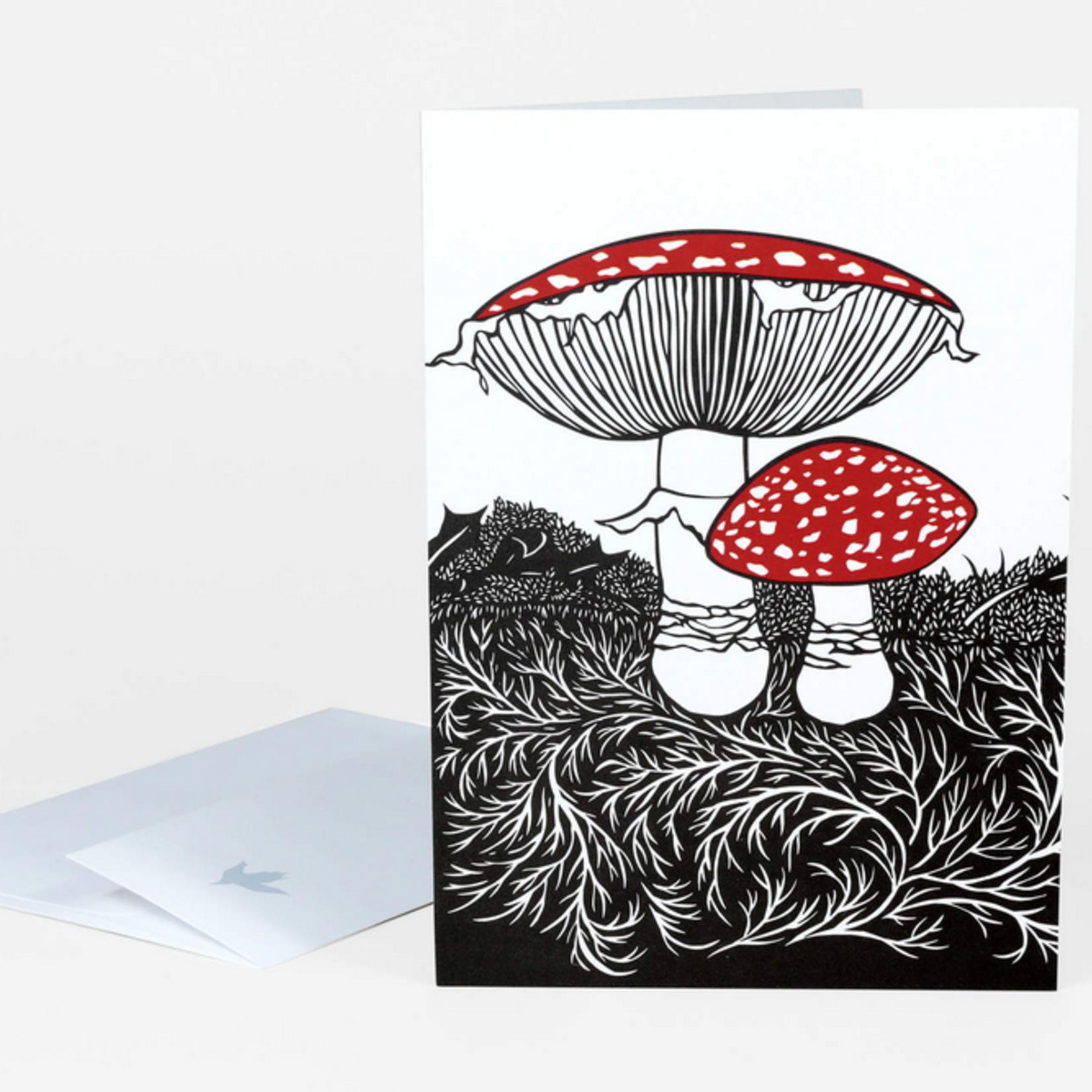 Nikki McClure Mother Papercut Notecard & Envelope