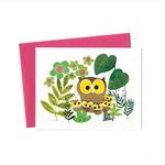 An Open Sketchbook Box Set: Mother Owl Greeting Card