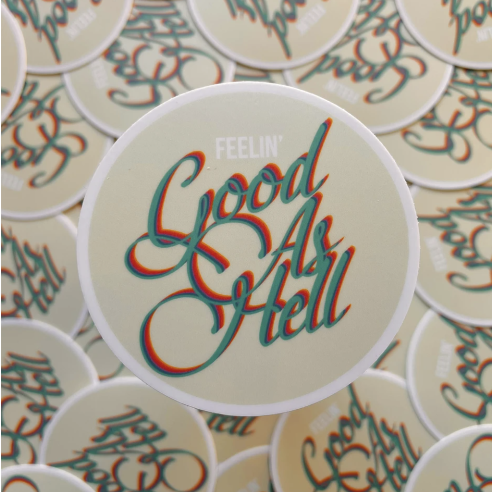 Good As Hell Lizzo Sticker