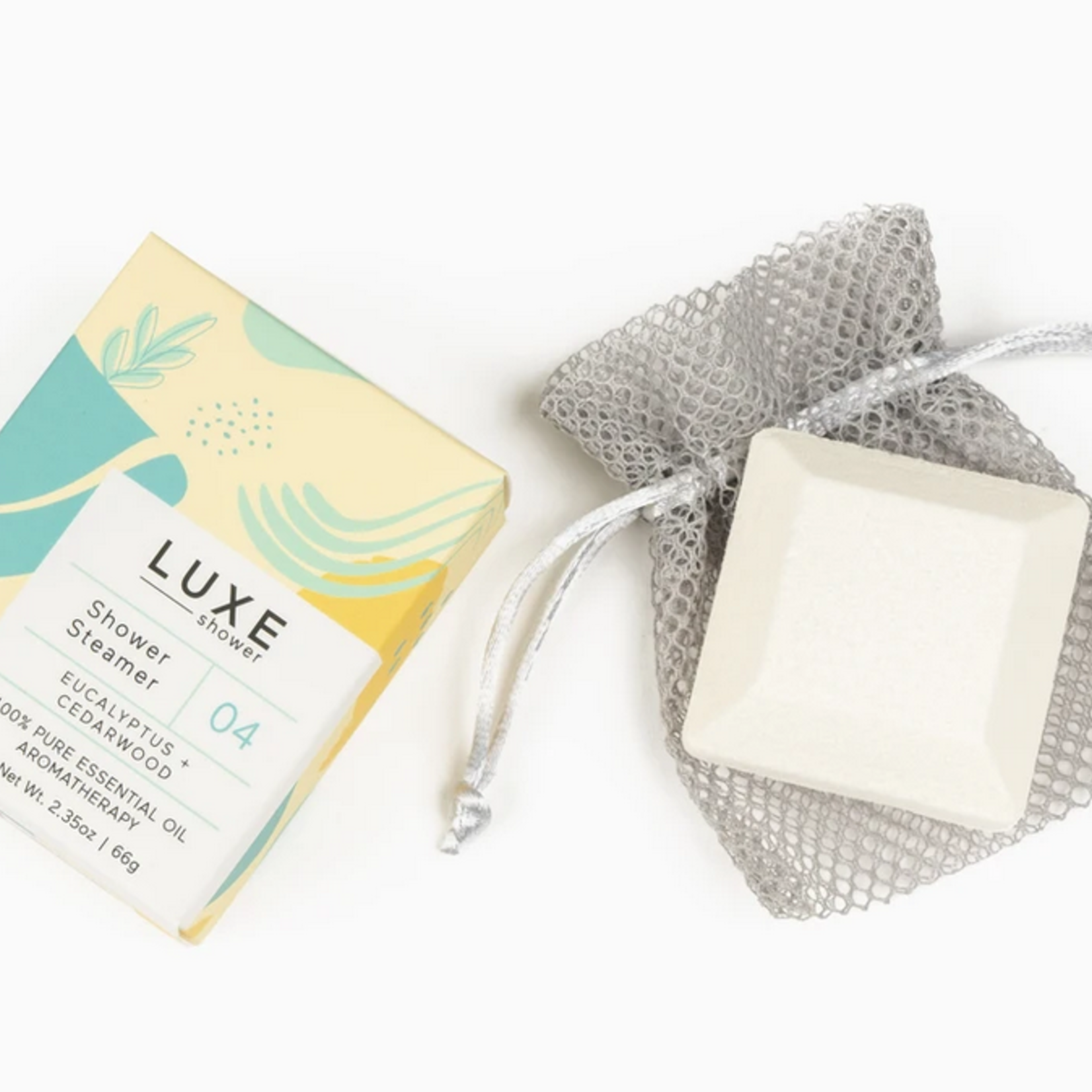 Cait + Co Luxe Shower Steamer Fizzy Bombs