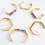Grey Theory Mill GTM Crystal Cuff Bracelets