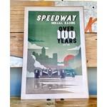 Indygenous Neighborhoods: Speedway 12x18 Poster