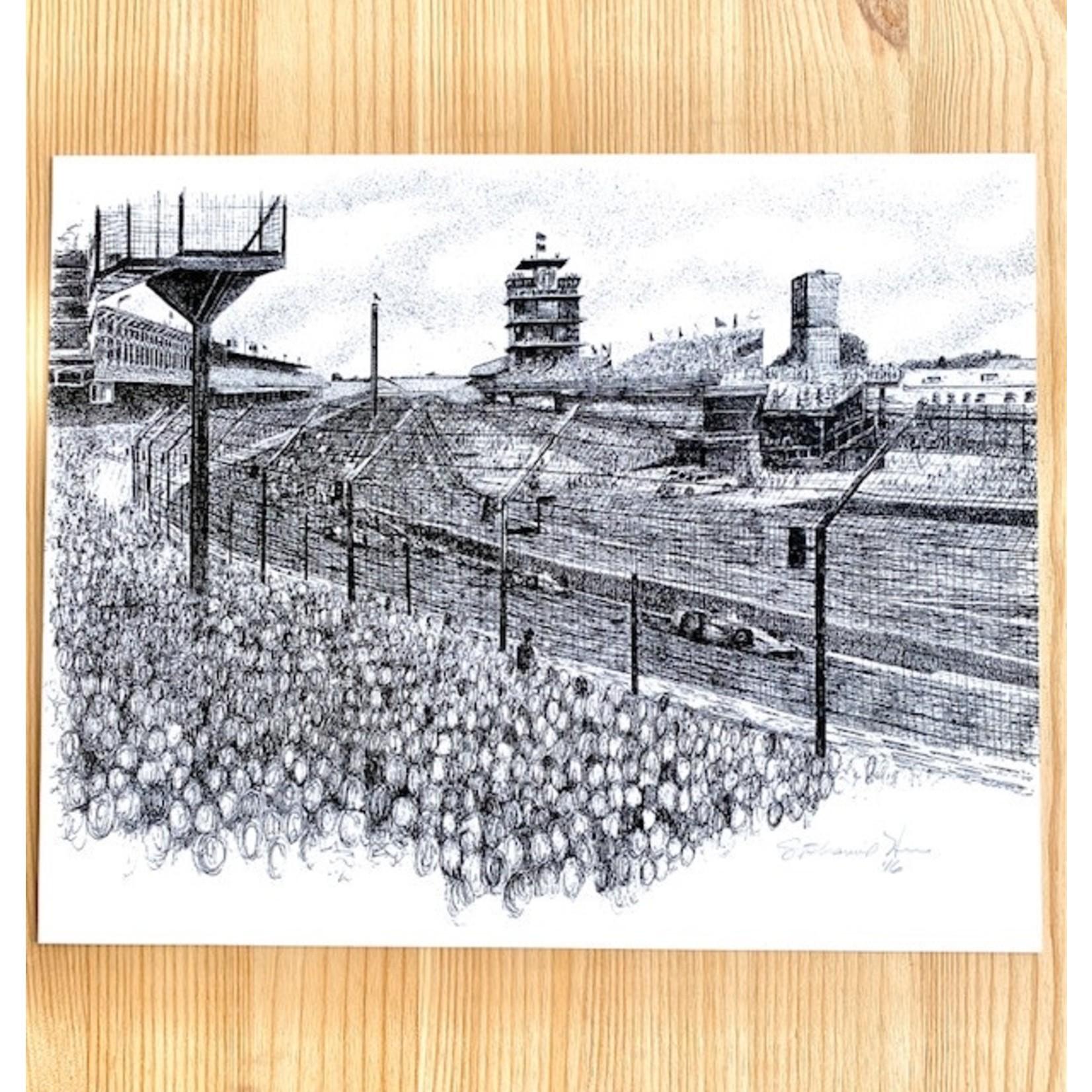HuberArt Turn 1: Pagoda Art Print