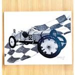 HuberArt Marmon Wasp Art Print