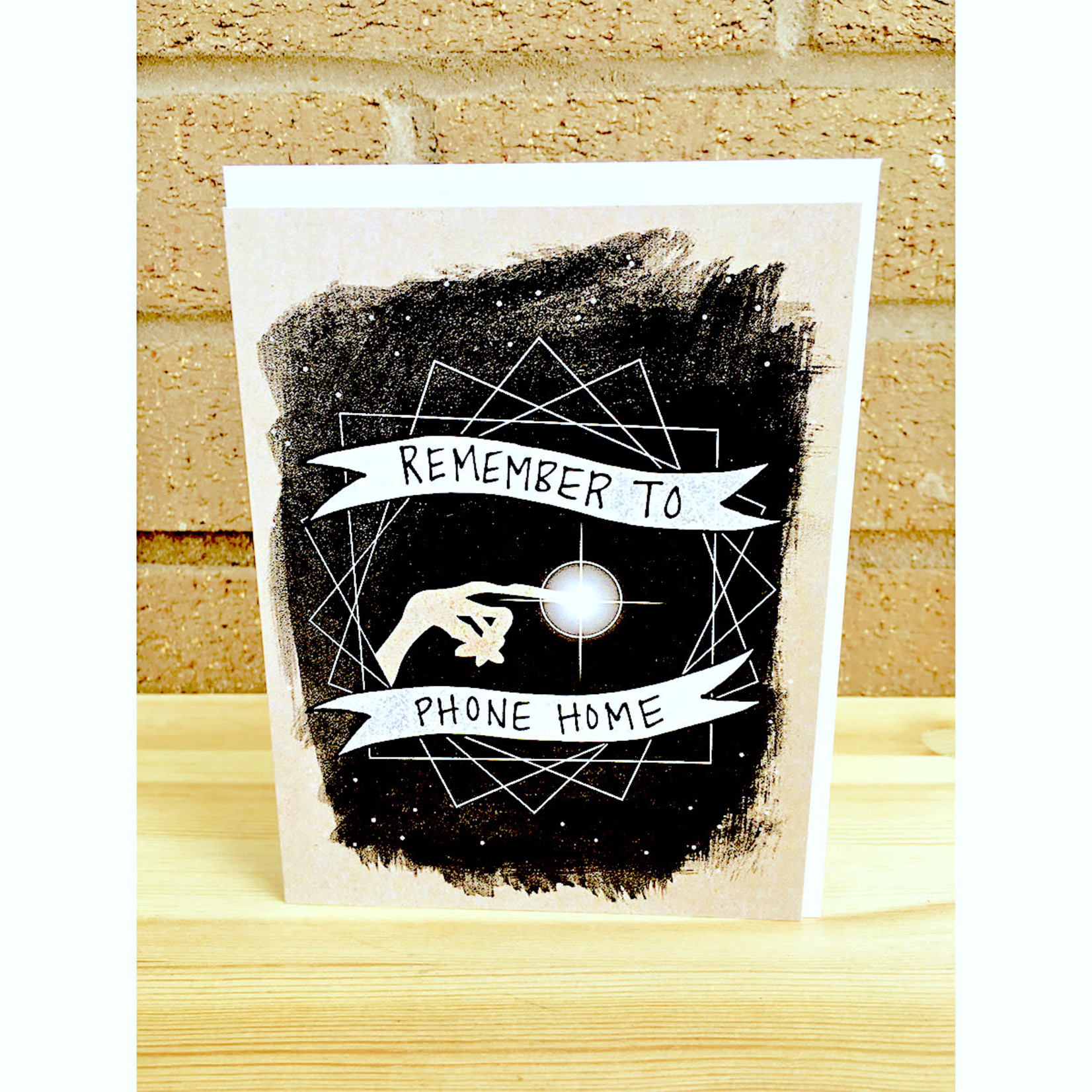 Band of Weirdos / Moss Love *Remember To Phone Home Greeting Card