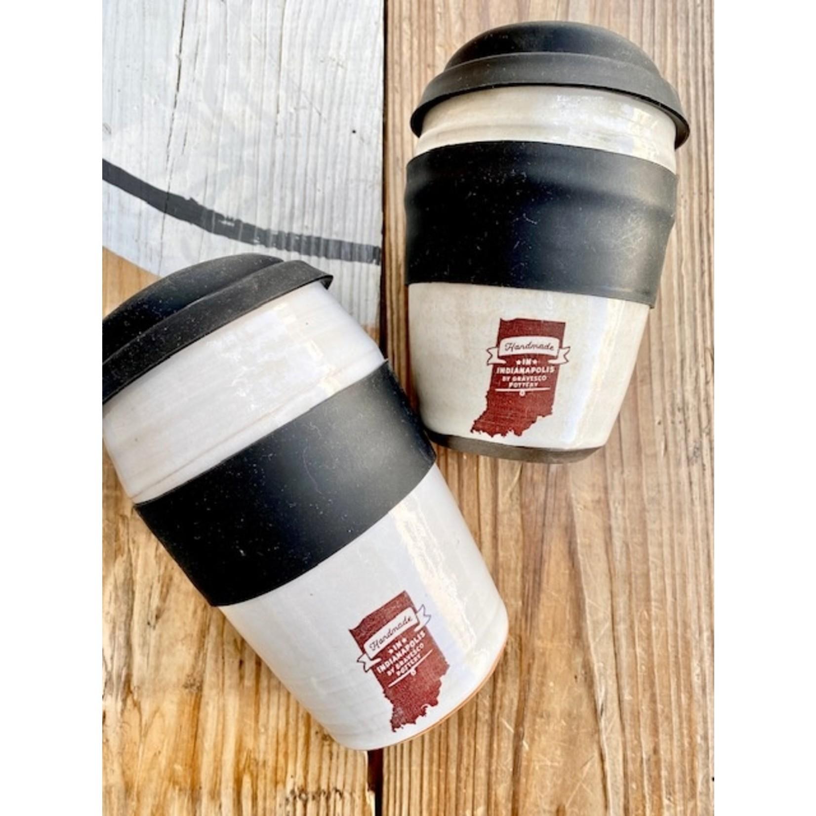 GravesCo Pottery: Ceramic Tumbler Cup