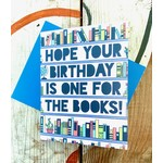 Fiber and Gloss One For The Books Birthday Greeting Card