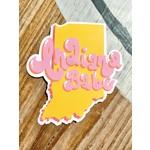 Siyo Boutique (BO) Indiana Babe State Sticker