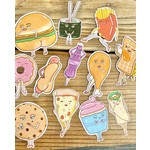 Siyo Boutique (BO) Food Pin-Up Sticker Set