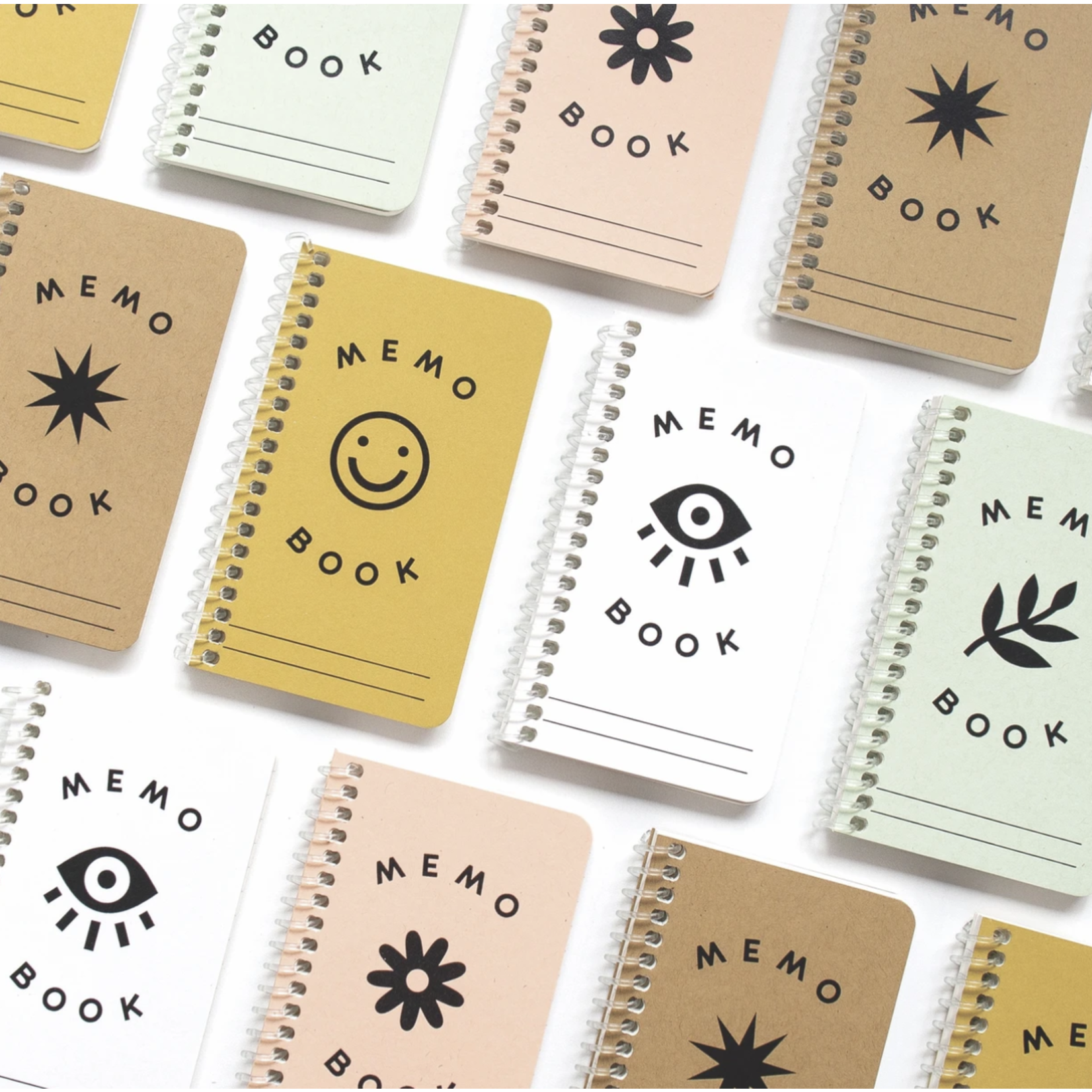 Worthwhile Paper Tiny Spiral Memo Books
