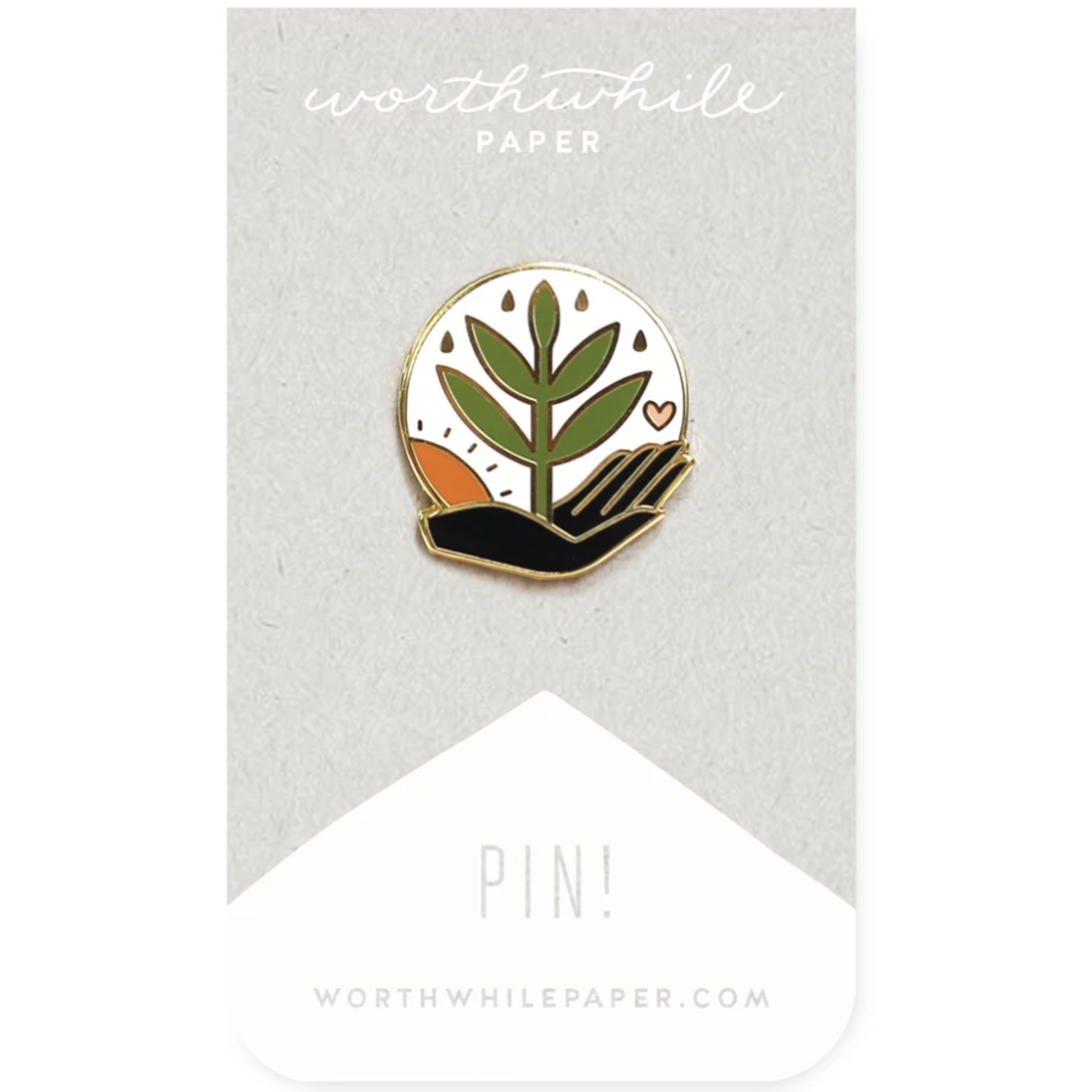Worthwhile Paper Worthwhile Paper Enamel Pins