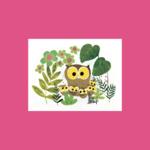 An Open Sketchbook Box Set: Mother Owl Greeting Card