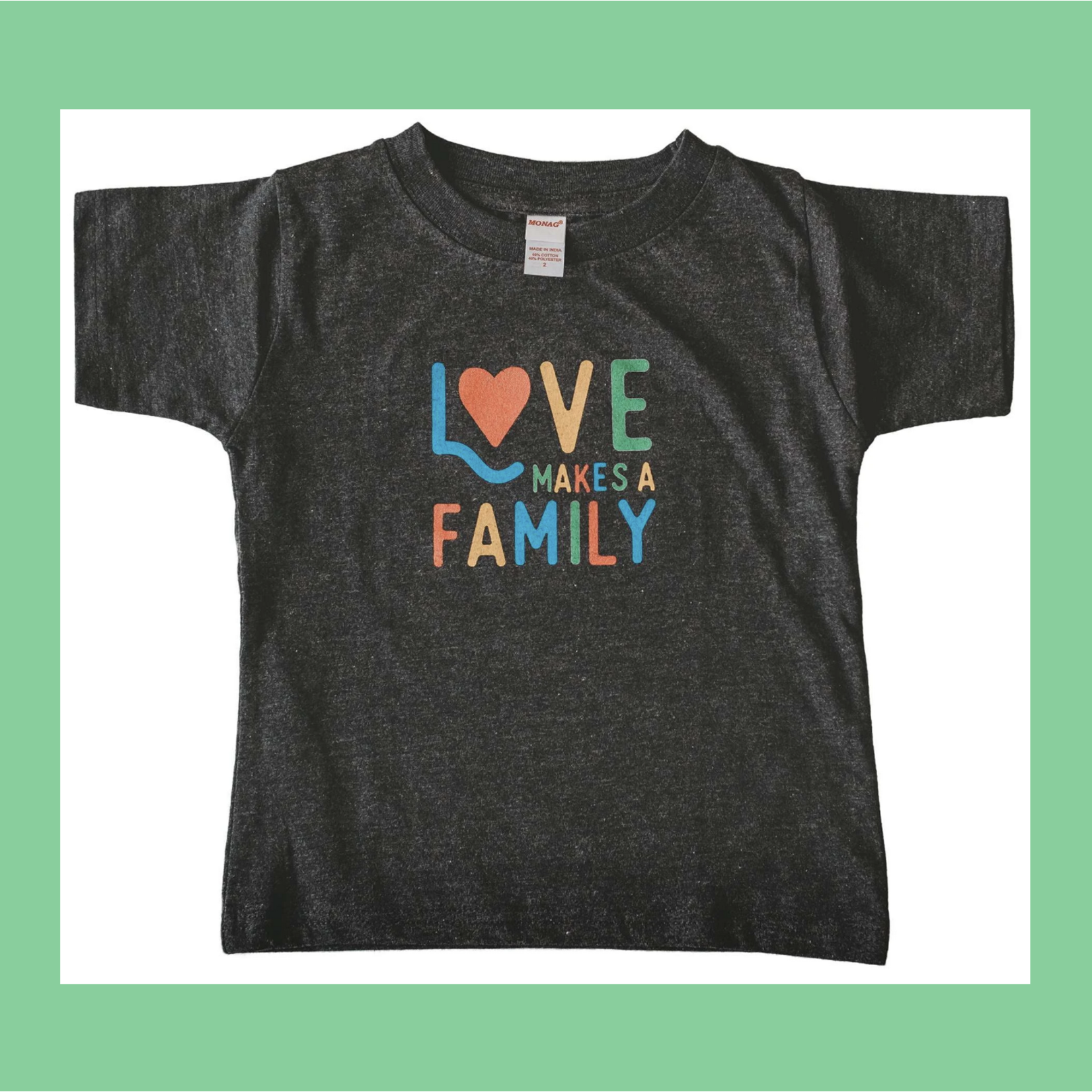 Sweetpea & Co. Love Makes A Family Toddler + Youth Tee