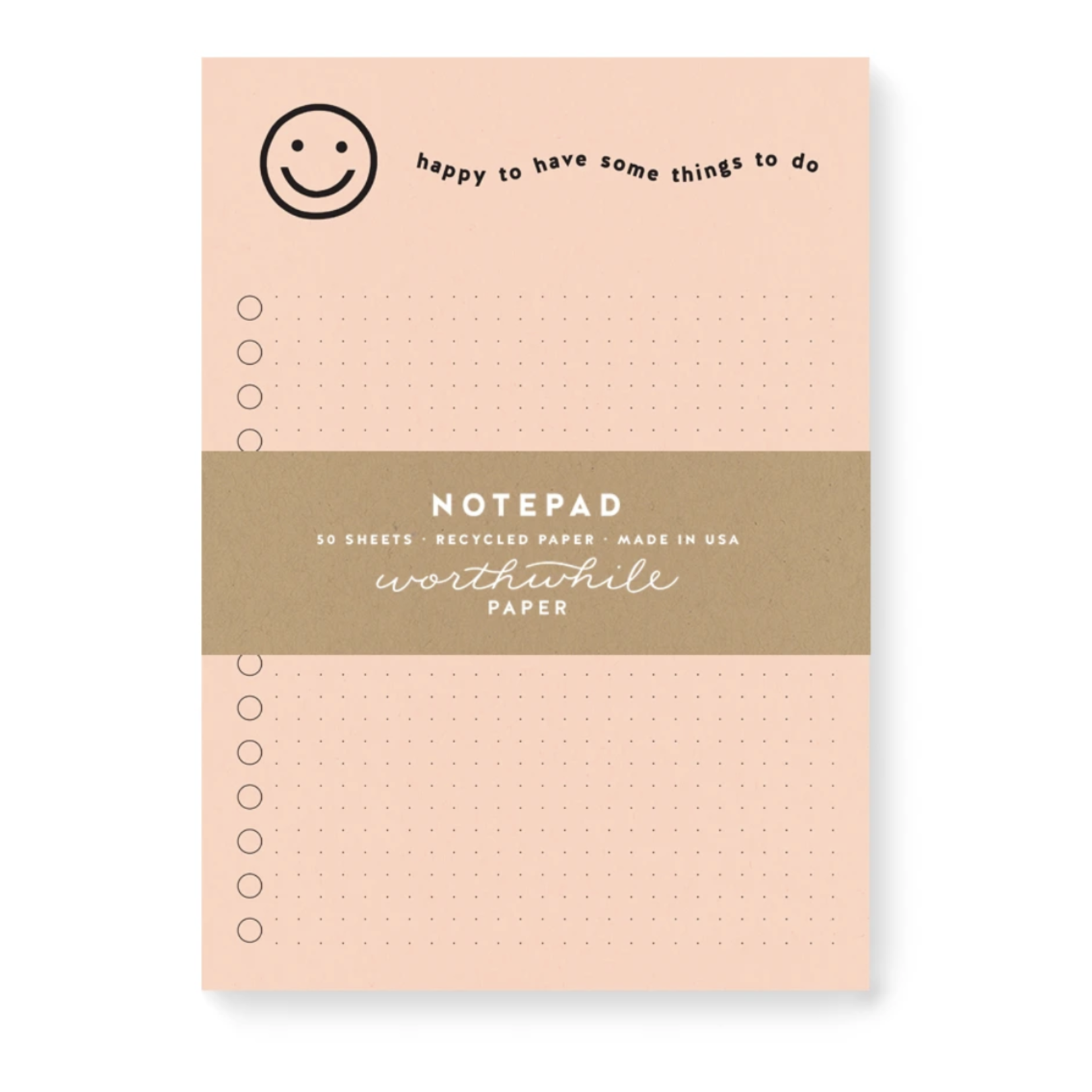 Worthwhile Paper Assorted Self-Care Notepads