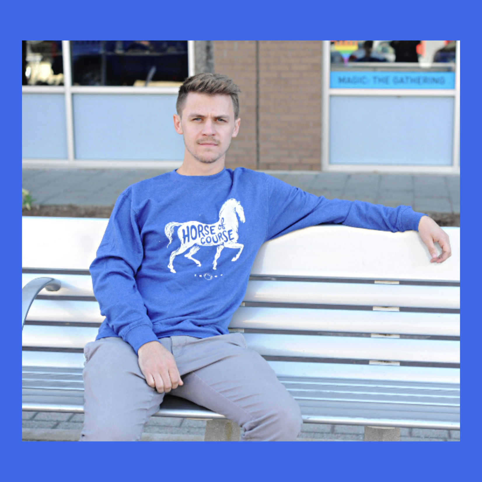 United State of Indiana Horse, Of Course Colt Sweatshirt