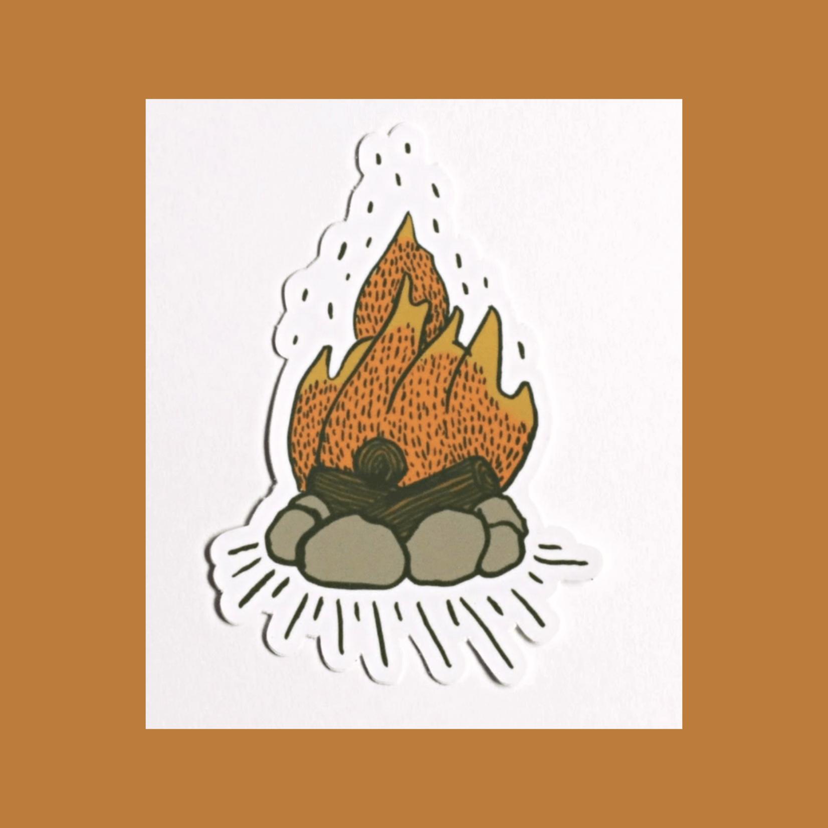 Tender Loving Empire Campfire Pit Sticker