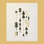 Tender Loving Empire Stand Together Trees 8x10 Art Print