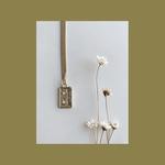 Oceanne (POC) Cassette Mixtape Gold-Plated Necklace