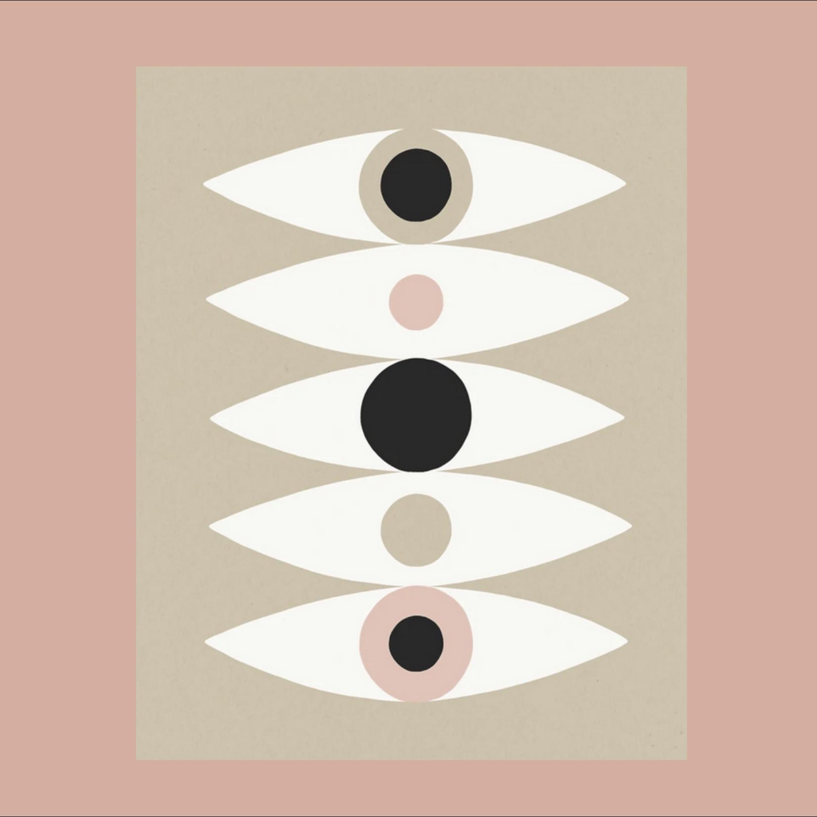 Worthwhile Paper Ways To See Eyes Kraft 11x14 Art Print