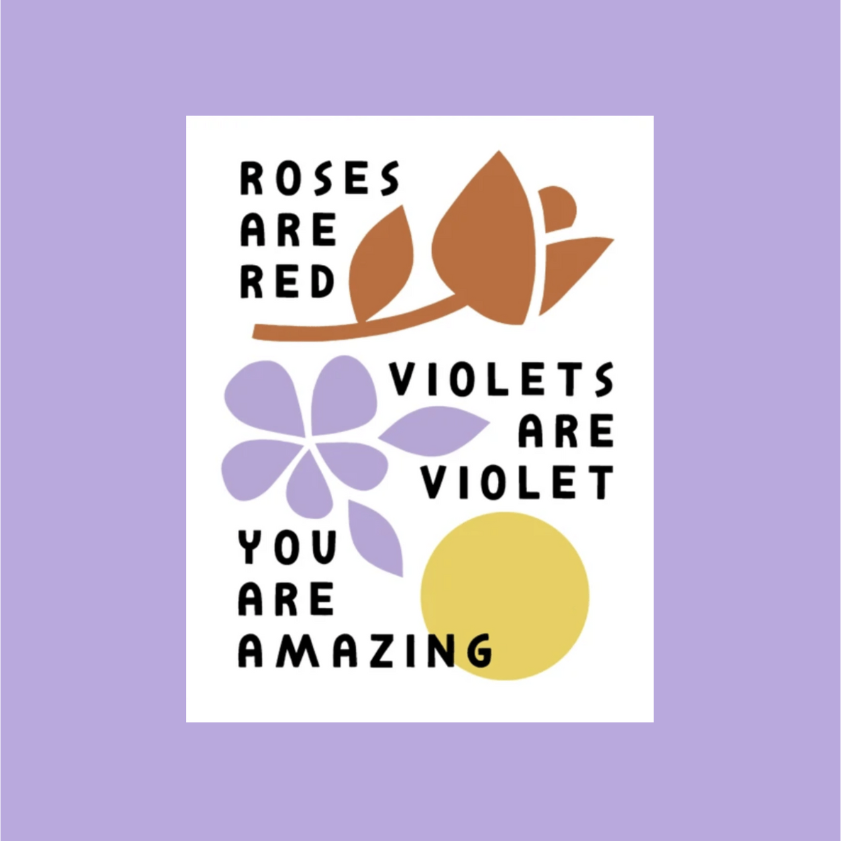 Worthwhile Paper Roses Are Red You Are Amazing Greeting Card