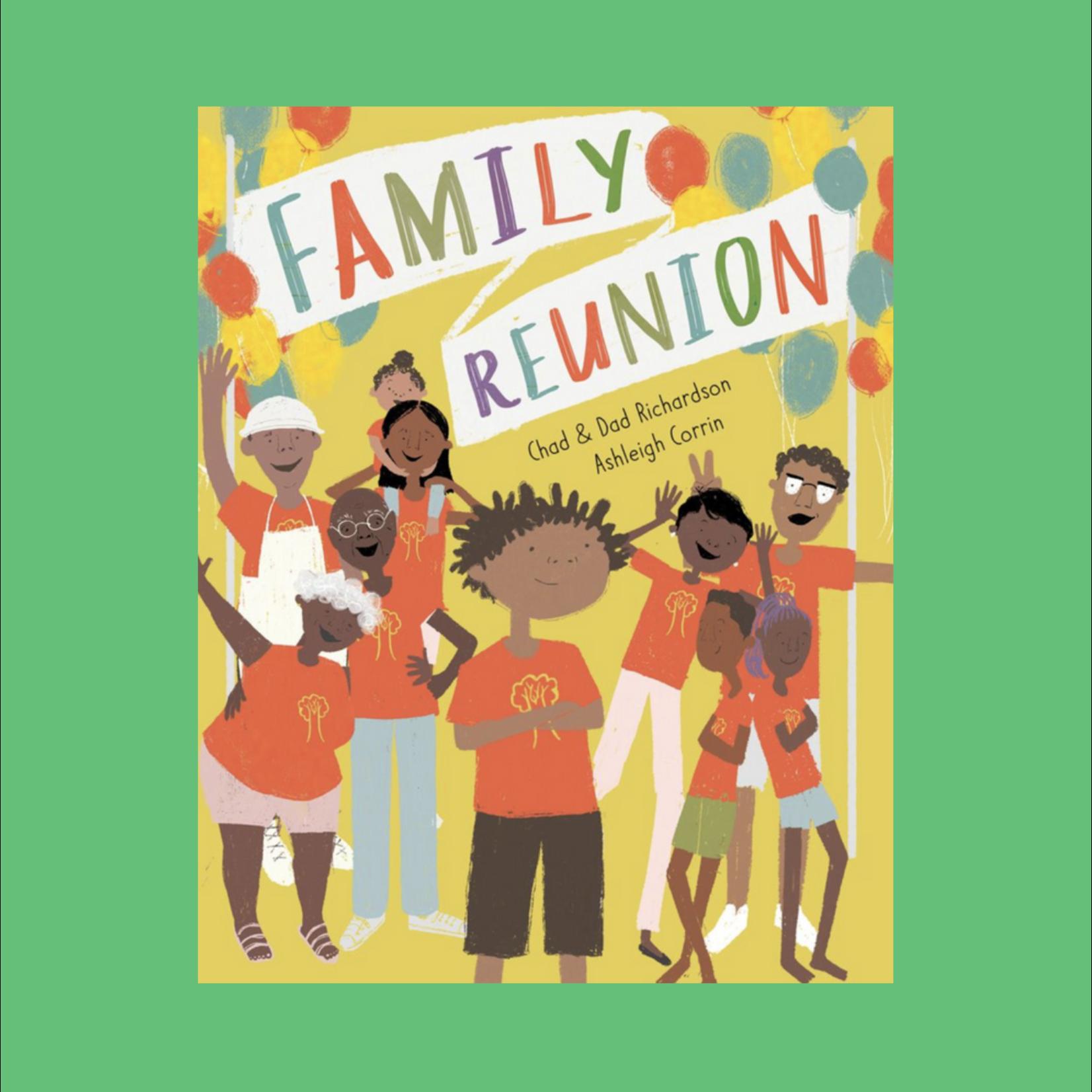 Family Reunion Book - Chad & Dad Richardson