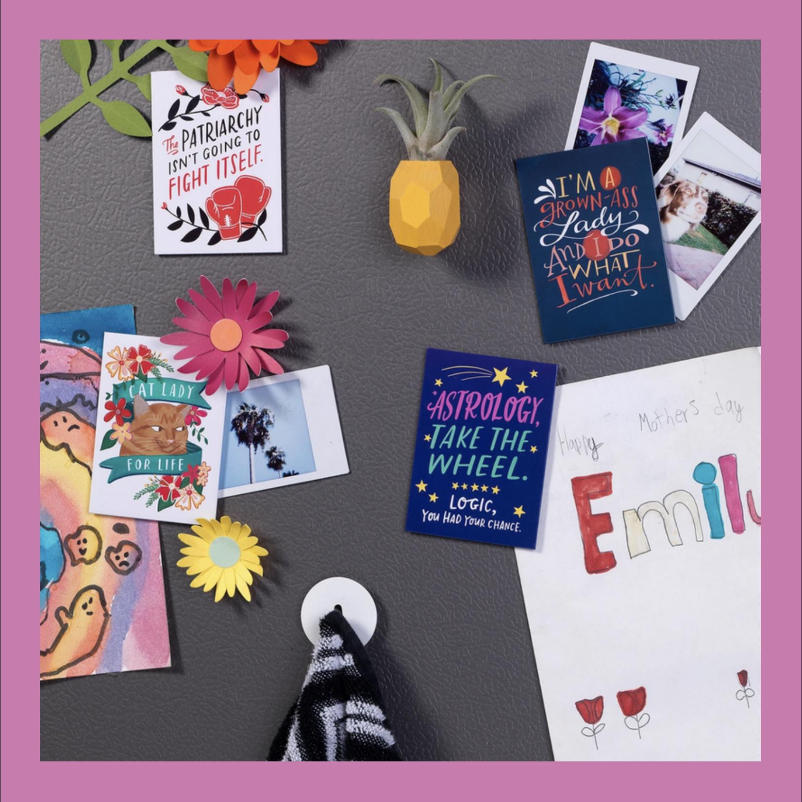 Em & Friends / Emily McDowell & Friends / Emily McDowell Studio Phrase Magnets