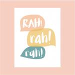 Haven Paperie RAH! rah! rah! Greeting Card
