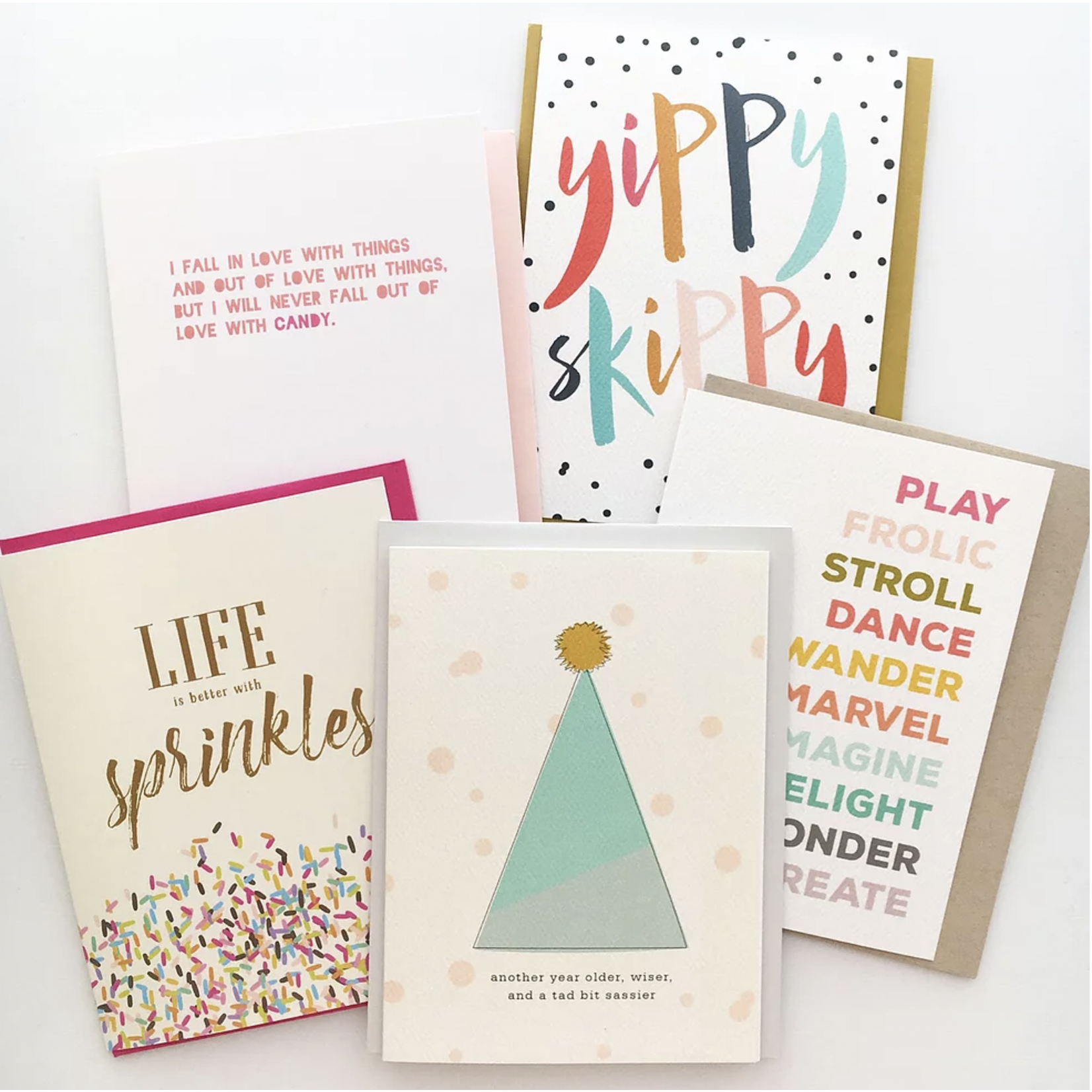 Haven Paperie Another Year Older, Wiser, Tad Bit Sassier Greeting Card