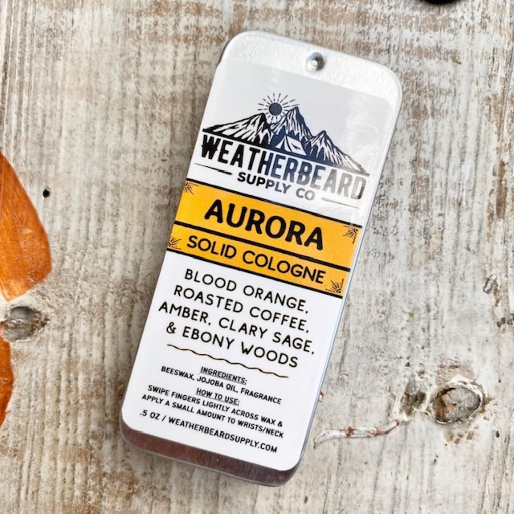 WeatherBeard Supply Co. Weatherbeard Solid Cologne Tins