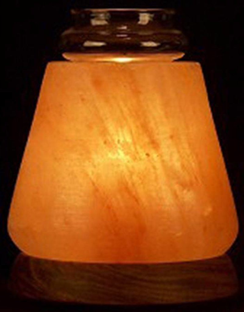 Cone Himalayan Salt Aroma Lamp