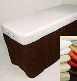 Comphy Co Microfiber Table Skirt