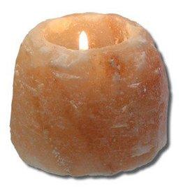 Lg Himalayan Salt Tealight Holder 40 oz