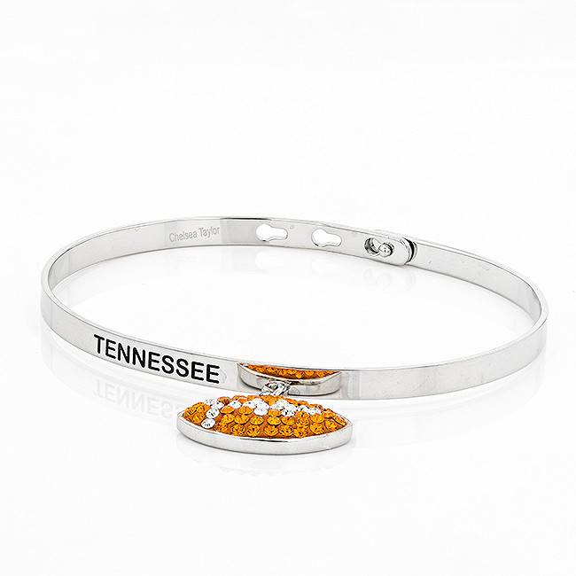 Chelsea Taylor FOOTBALL MEMORY BANGLE WITH DANGLE
