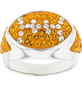 Chelsea Taylor FOOTBALL RING #2 ORANGE AND WHITE