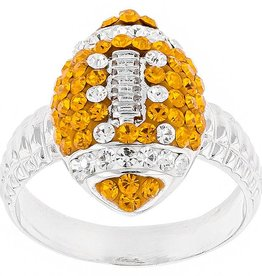 Chelsea Taylor ORANGE AND WHITE FOOTBALL RING