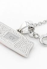 Chelsea Taylor ORANGE & WHITE PENDANT