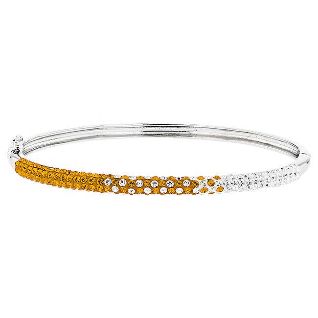 Chelsea Taylor Sun & Clear Bracelet (Small Width)