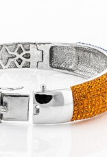 Chelsea Taylor ORANGE/LIGHT SAPP CRYSTAL BRACELET