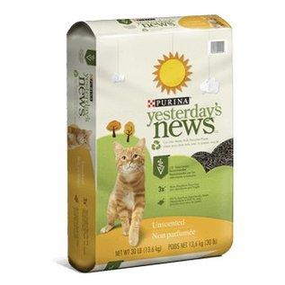 Yesterdays News Yesterdays News Cat Litter Original Unscented