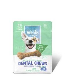 Tropiclean Dental Chew Blueberry Flavour 11oz