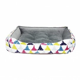 Be One Breed Cozy Bed Colourful Triangle