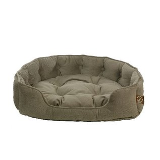 One 4 Pets Faux Sued Snuggle Bed