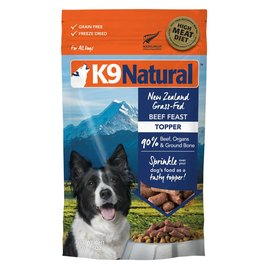 K9 natural Topper - Beef Feast 5oz