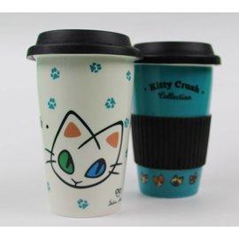 The Cool Corp Kitty Crush Travel Mug (W/Sleeve)