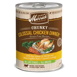 Merrick pet care Colossal Chicken Dinner 12.2oz