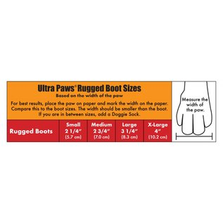 Ultra Paws Rugged Boots Black