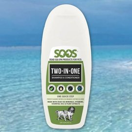 SOOS Two-In-One Pet Shampoo & Conditioner For Dogs & Cats 500ml