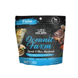 Absolute Holistic Air Dried Treats - Oceanic Farm (Blue Mackerel & Lamb)