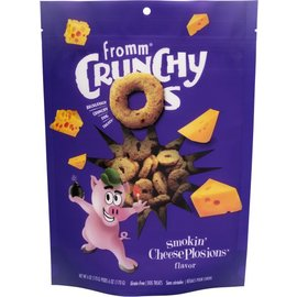 Fromm family Crunchy O's Smokin' CheesePlosions 6oz