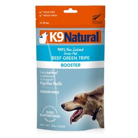K9 natural Topper - Beef Green Tripe 3.5oz